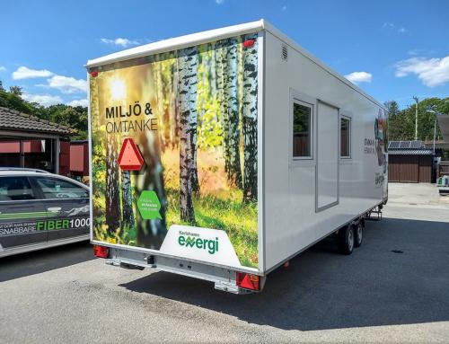 Karlshamns Energi – Profilering och uppmärkning av arbetsbod